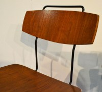 60s wooden chairs in curved plywood - DOMUS NOVA ...