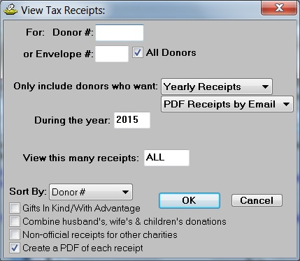 Benefits of Donarius-Church Management Software, Donation Tracking