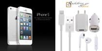 SUPER PRICE για 1σέτ iPhone 5 gadgets!! Μόνο 14€ από 29€ (-52%) για ένα σέτ iPhone 5 που περιλαμβάνει: Ακουστικά, Καλώδιο USB, φορτιστή σπιτιού και αυτοκινήτου. Δυνατότητα αποστολής με σε όλη την Ελλάδα. Από το κατάστημα SULEHRIA STORES στην Αθήνα.