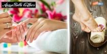 SUPER PRICE για ελκυστικά άκρα!! Μόνο 4€ από 12€ (-67%) για ένα πλήρες Manicure (χρώμα ή γαλλικό) και σχέδιο της επιλογή σας- ή - 7€ από 18€ για ένα Pedicure (χρώμα ή γαλλικό) Σχέδιο της επιλογή σας για ελκυστικά άκρα όλο το καλοκαίρι, στο μοντέρνο Κομμωτήριο Annabelle Coiffure στο Χαλάνδρι.