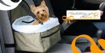 Μόνο 13,90€ από 20€ (-31%) για ένα (1) Κάθισμα Ασφαλείας Αυτοκινήτου για το σκυλάκι σας, άνετο, με απομίμηση γούνας sheepskin που βγαίνει και πλένεται, εύκολη εγκατάσταση στο κάθισμα με ζώνες, θήκη με φερμουάρ για τα αξεσουάρ του σκύλου και τα παιχνίδια του! Προσφορά του Sulehria Store στην Ομόνοια με επιπλέον δυνατότητα αποστολής στο χώρο σας πανελλαδικά!