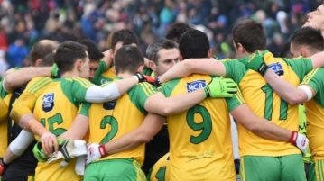 Donegal huddle