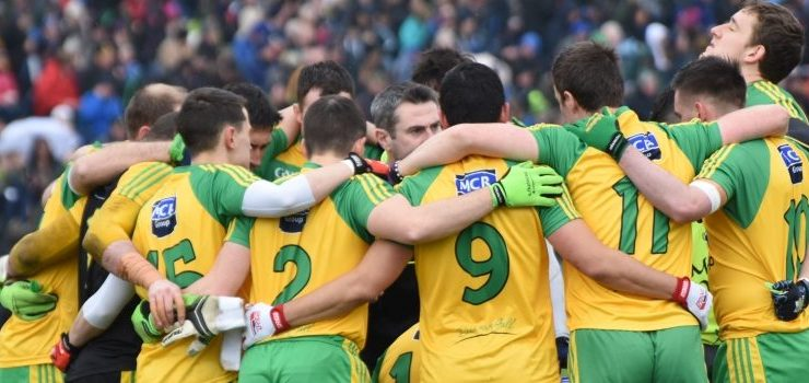 Donegal huddle
