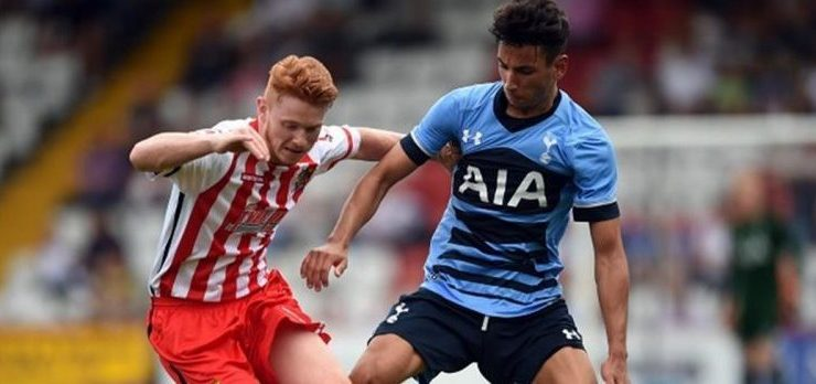 Dale Gorman making the most of extended run in Stevenage starting line-up