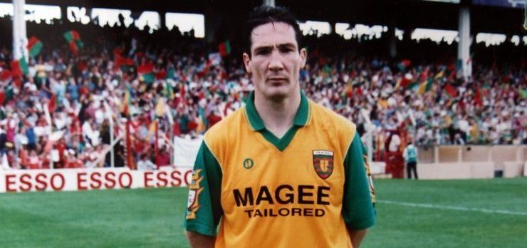 The first book from one of Donegal's 1992 All-Ireland winning starting team is on the way