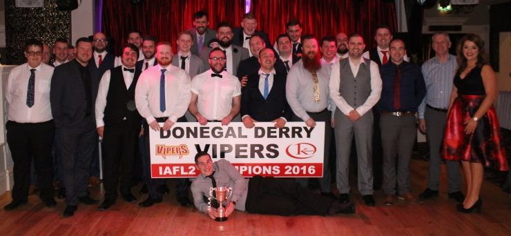 Donegal-Derry Vipers host annual awards function