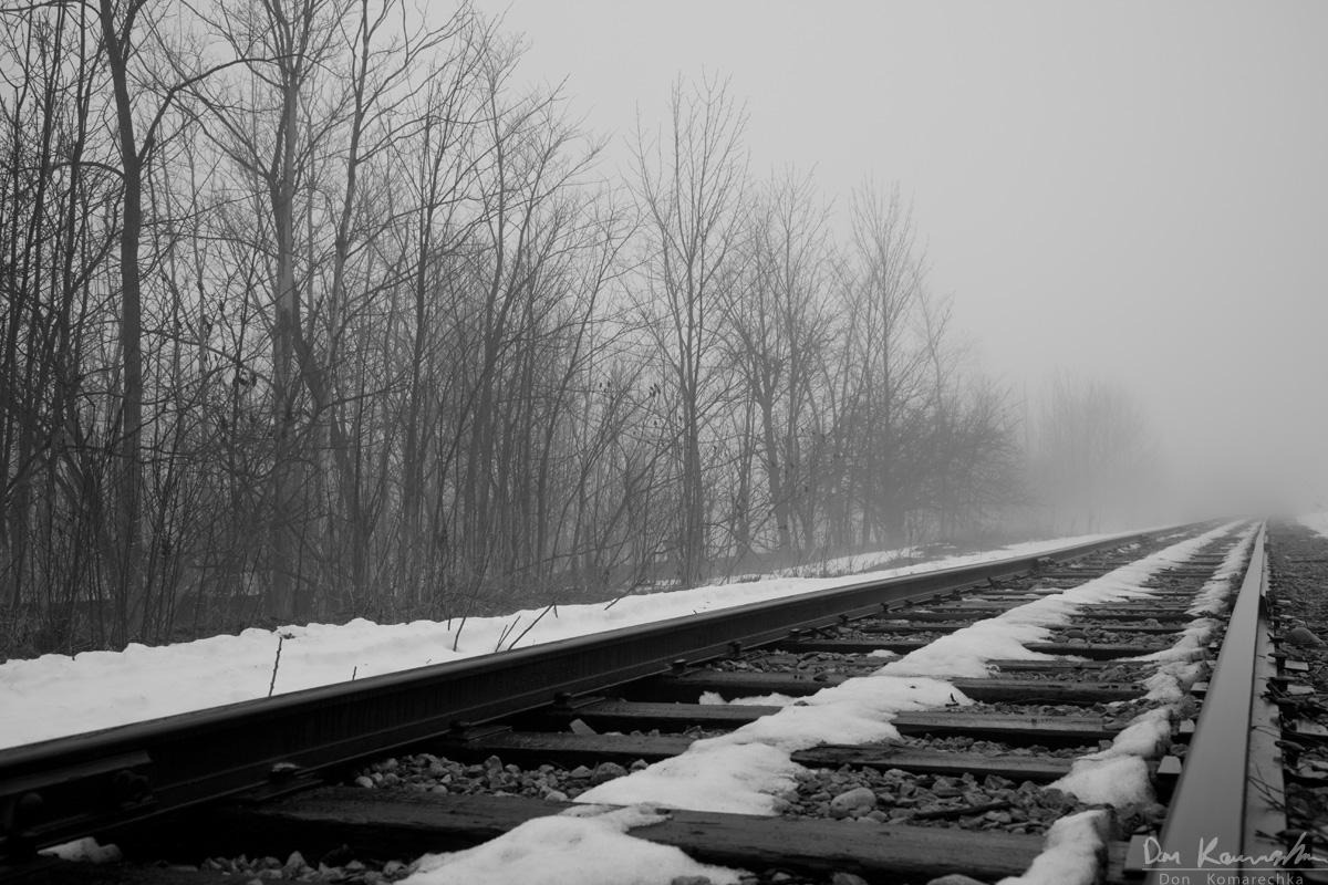Dark Clouds Hd Wallpaper Don Komarechka Photography Barrie Ontario 187 Foggy Tracks