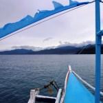 Boat to Small Palawan Island