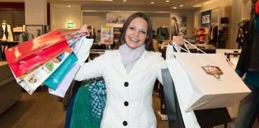 donna shopping