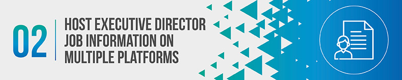 4 Tips for Writing Your Executive Director Job Description DonorSearch - executive director job description
