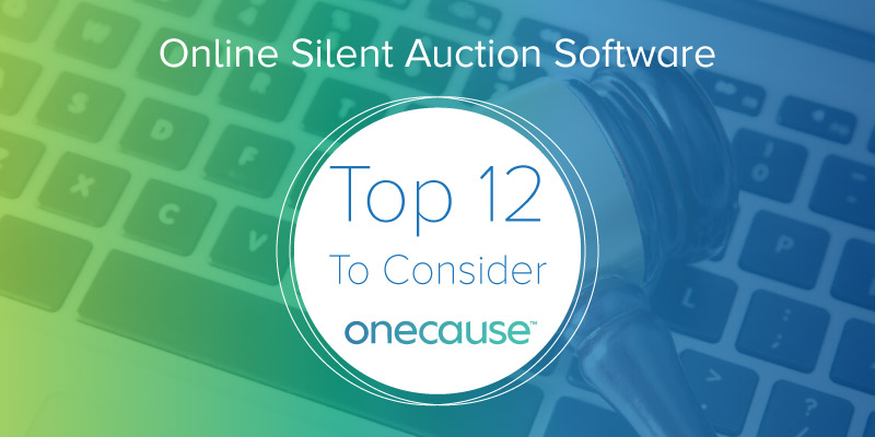 Online Silent Auction Software The Top 12 to Consider DonorSearch
