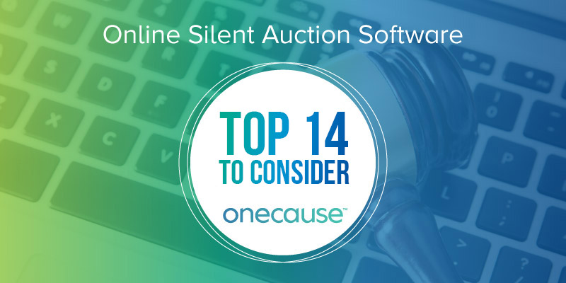 Online Silent Auction Software The Top 14 to Consider DonorSearch