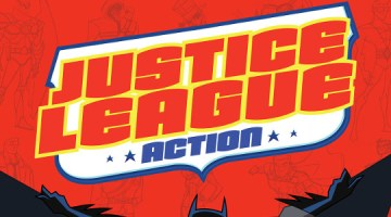Justice League action slider