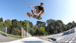 King of Kings, Kingspark, Kings Skatepark, Bournemouth , skate, skateboarding, skate comp, Nathan Heard, Skate event, Skatepark, Ramps, skateramps, don't rain,don't rain skateboarding, kick flip indy