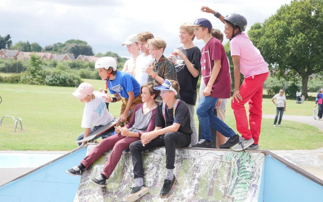 Slades farm skate competition, don't rain, skateboarding, bournemouth, skatepark, skate lessons,