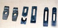 Assorted machining setup clamps, te-co & other mfg's.