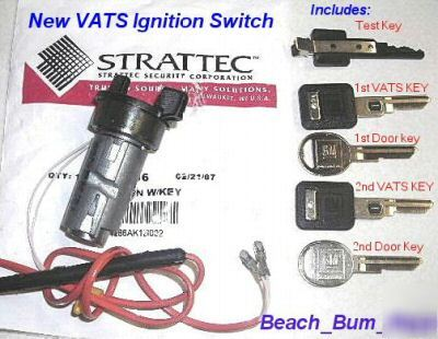 Vats ignition switch firebird 89 90 91 92- 02 trans am