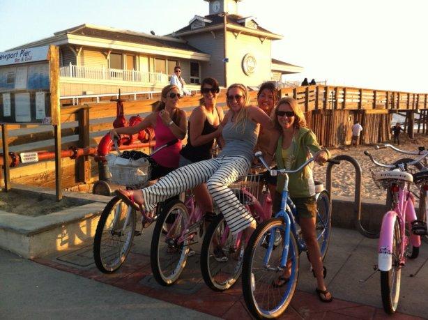 Biking in Newport Beach, CA