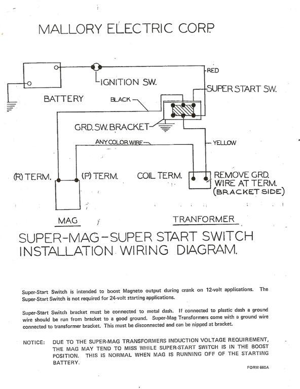 Mallory Mag O Wiring Diagram Wiring Diagram