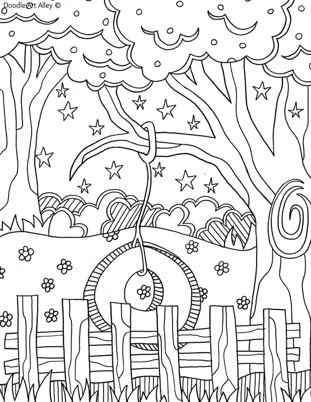 Summer Coloring pages - Doodle Art Alley - culring pags