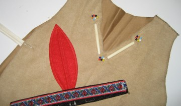 2. Native dress-up outfit