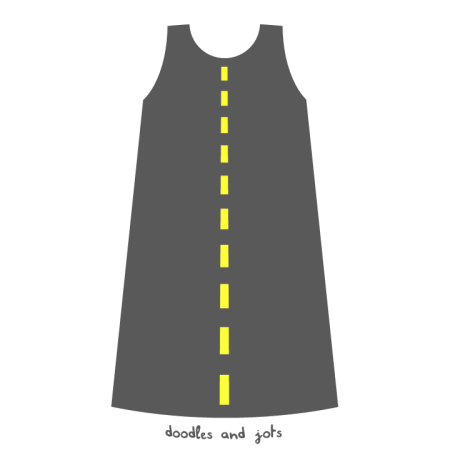 road looks like dress