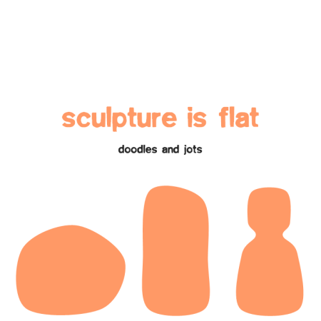 s sculpture is flat