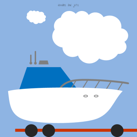 traveling boat