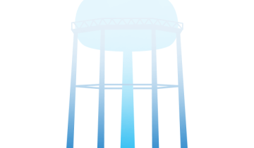 vanishing water tower
