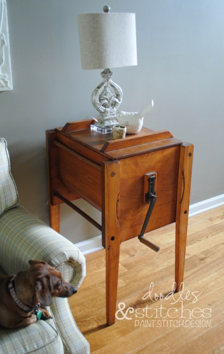 antique butter churn cocoa