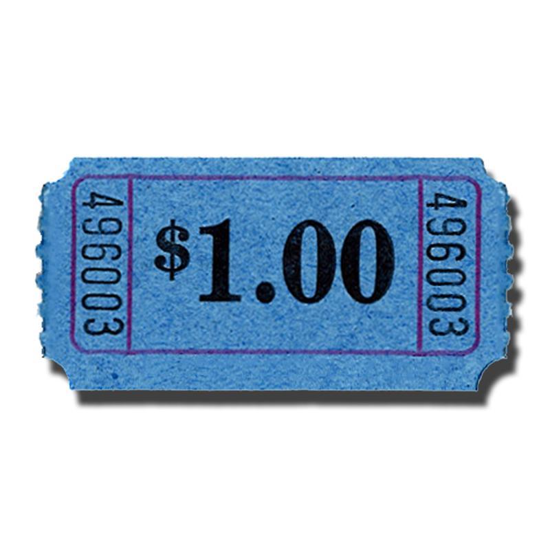 50 50 tickets roll