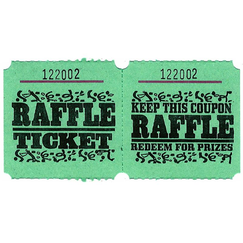 Raffle Marquee Roll Tickets - Doolins - raffle ticket