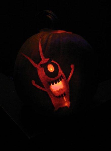 Plankton Pumpkin | doomthings