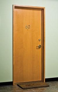 Solid Wood Flush Exterior Door. solid wood door solid teak ...