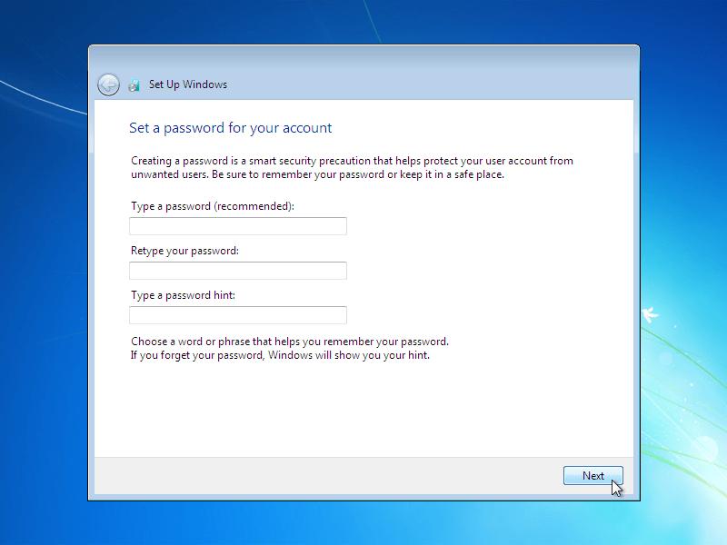 i want windows 7 product key