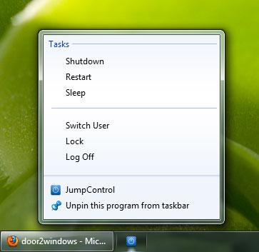 restart taskbar windows 7