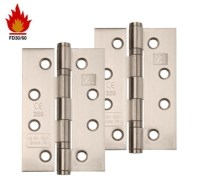 Excel Hardware 4 Inch 'Fire Rated', Stainless Steel, Ball ...