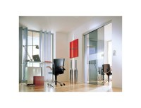 Glass Partition Wall Office | Room Dividing Doors | Glass ...