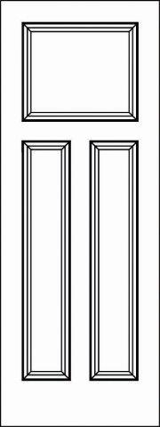 Interior Doors - Paint Grade MDF - Door Model: 5105 ...