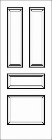 Interior Doors - Paint Grade MDF - Door Model: 5138 ...