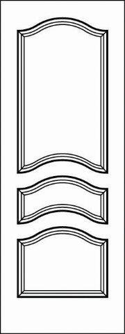Interior Doors - Paint Grade MDF - Door Model: 5777 ...