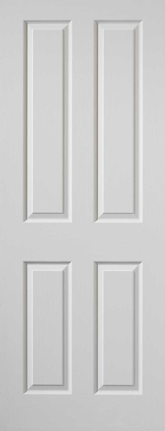 The purbeck collection of white smooth doors