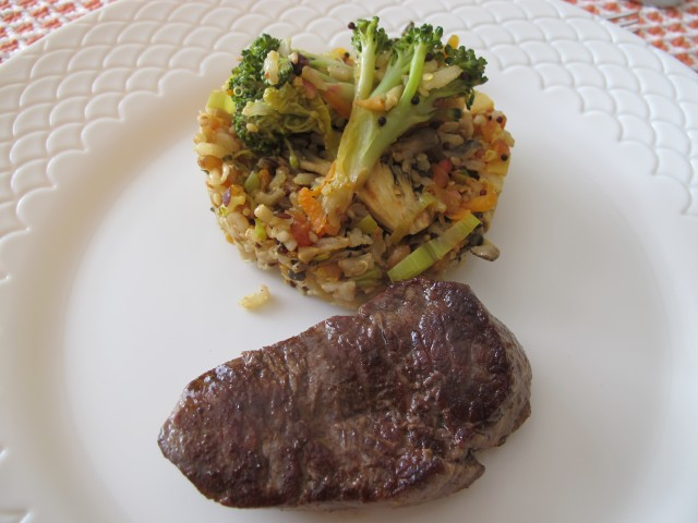 risoto de legumes integral