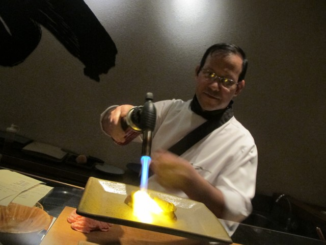 jurassi chef aya do pao ao caviar