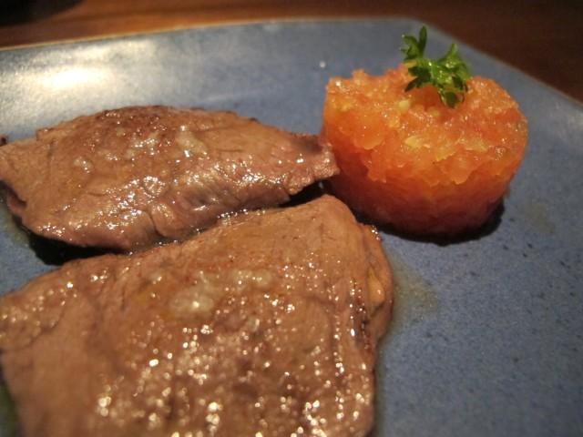 kobe beef com tartar de tomate aya