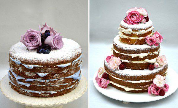 Naked Cake do Le Jardin Secret