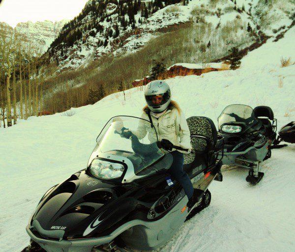 snowmobill aspen highline