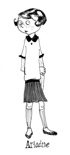 Character design for webcomic.