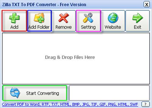 TXT to PDF Converter, Convert/Save TXT file to PDF document - Convert File To Pdf
