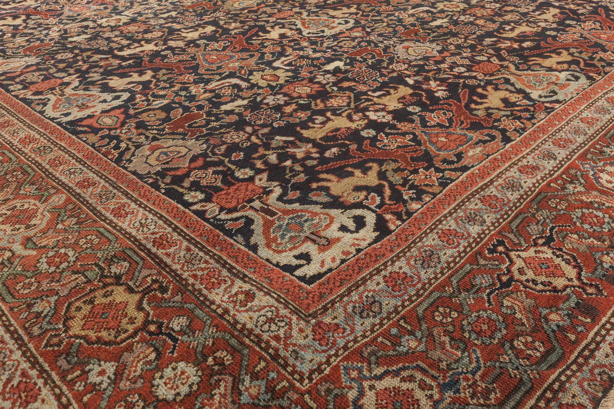 Antique Persian Feraghan Rug Bb6310 By Doris Leslie Blau